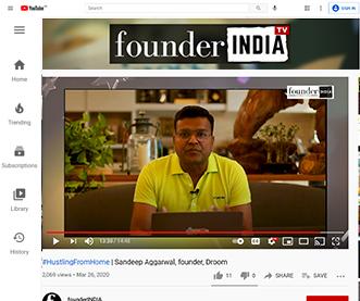 #HustlingFromHome | Sandeep Aggarwal, founder, Droom